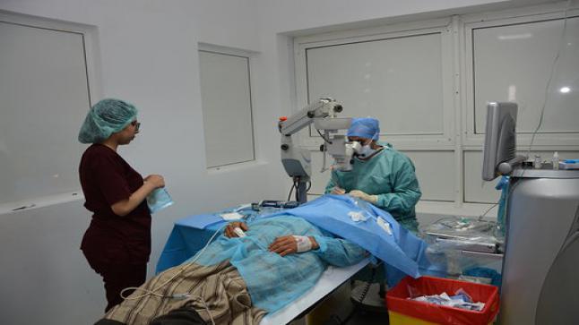 الجرف الأصفر: OCPاستفادة 450 شخصا من سكان المناطق المجاورة للجرف الأصفر من القافلة الطبية لأمراض العيون