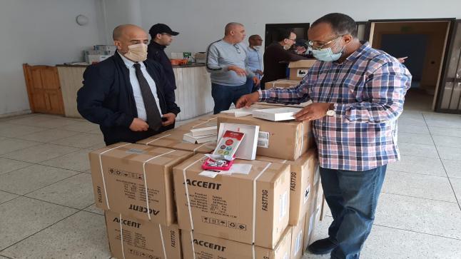 توزيع 1291 لوحة الكترونية «Tablettes» لفائدة تلاميذ العالم القروي بإقليم الجديدة