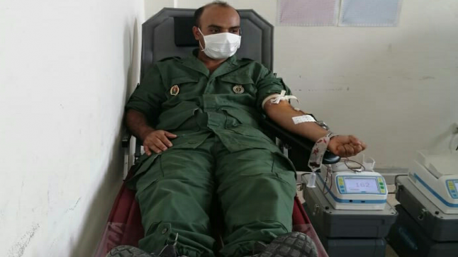 بادرة إنسانية رائعة: قائد الملحقة الإدارية الأولى بازمور يتبرع بالدم لفائدة مرضى كوفيد 19